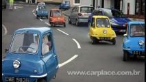 Peel 50: Menor Carro do Mundo fabricado na década de 60 volta com motor elétrico - Assista
