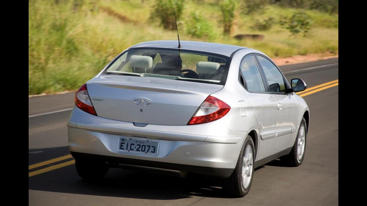 Galeria de Fotos: Chery apresenta oficialmente o Cielo nas versões hatch e sedan