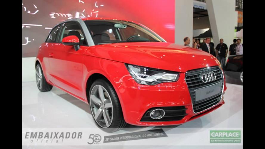 Novo Audi A1 chega ao México com preço equivalente a R$ 33.600 - Aqui custará R$ 90 mil