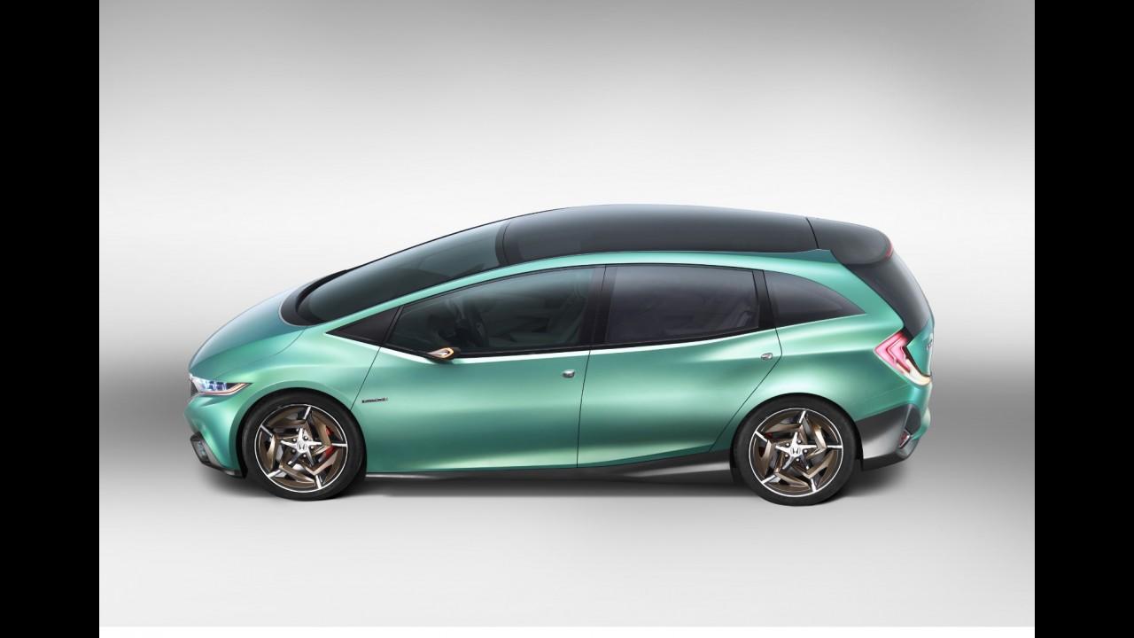 Salão de Pequim: Honda Concept S dará origem à nova minivan na China