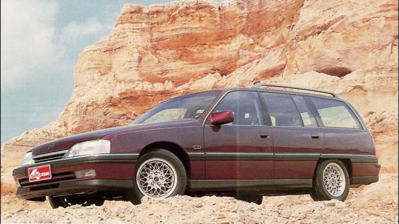 """Carros para sempre: Chevrolet Omega nacional foi """"absoluto"""" em sua época"""