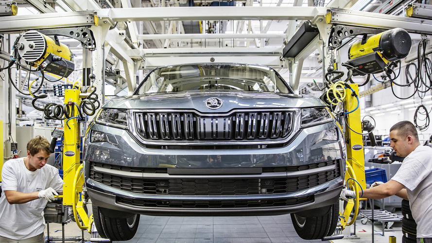 Skoda Kodiaq production