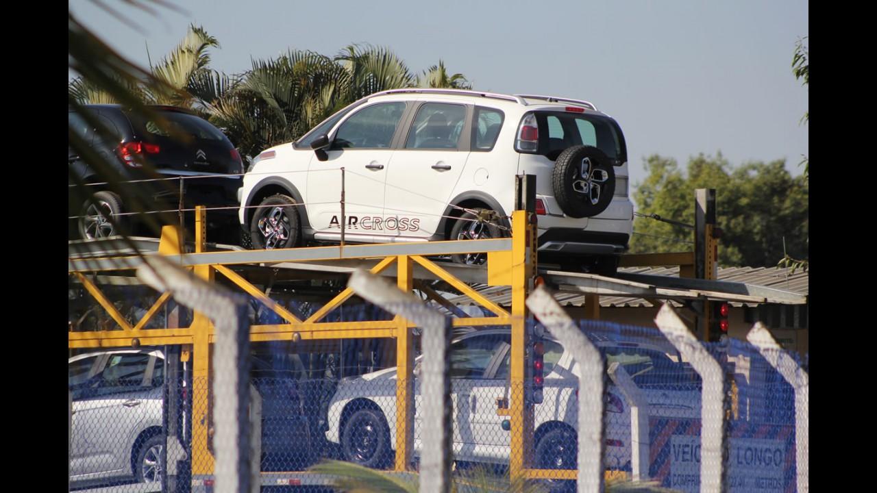Citroën Aircross 2014 ganha novas opções de rodas por problemas de fornecimento