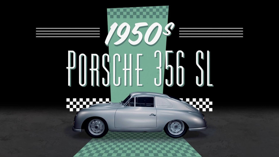 7 Porsches from the last 7 decades