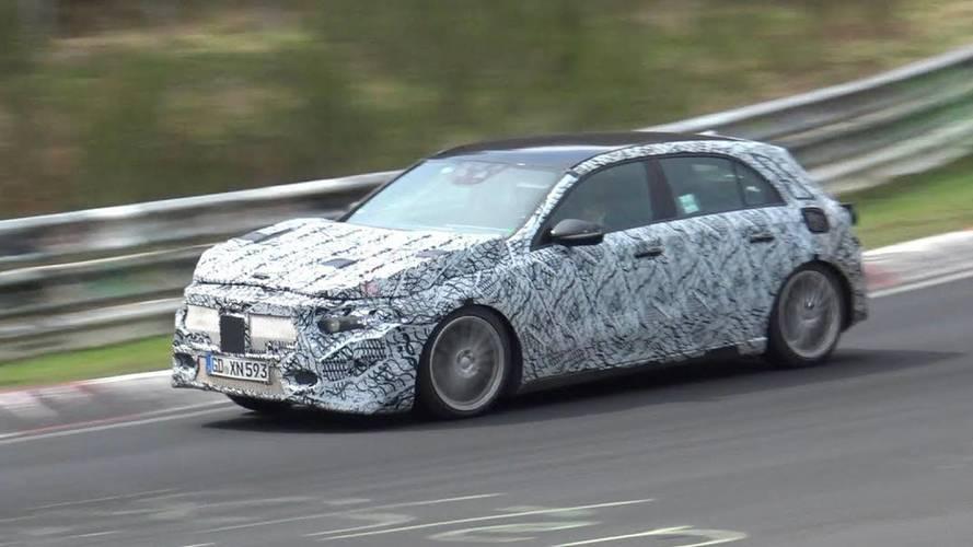Yeni Mercedes GLA Nürburgring'de yakalandı
