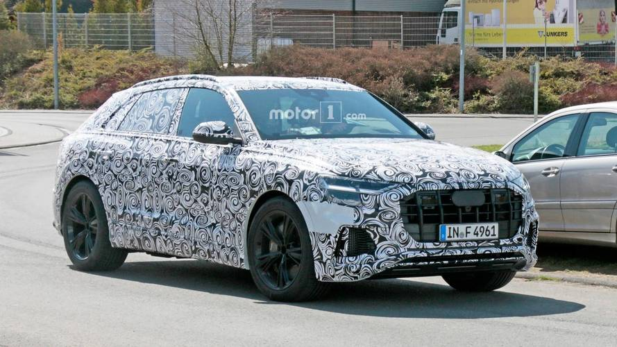 Audi RS Q8 Spied For The First Time Showing Off Aggressive Cues
