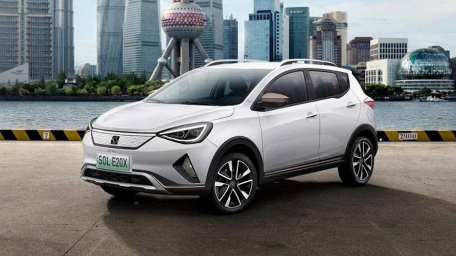 Volkswagen inicia produção do SUV elétrico Sol E20X na China