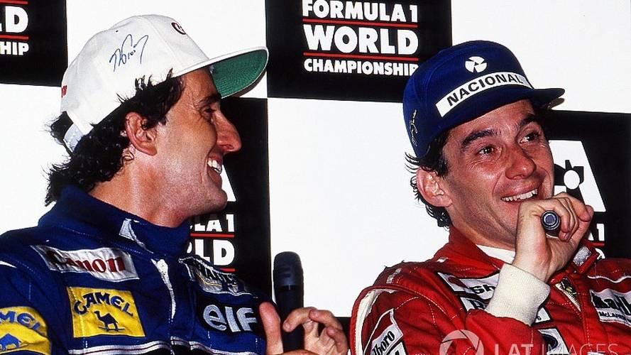 """Prost lembra Senna: """"Sua motivação era me derrotar"""""""