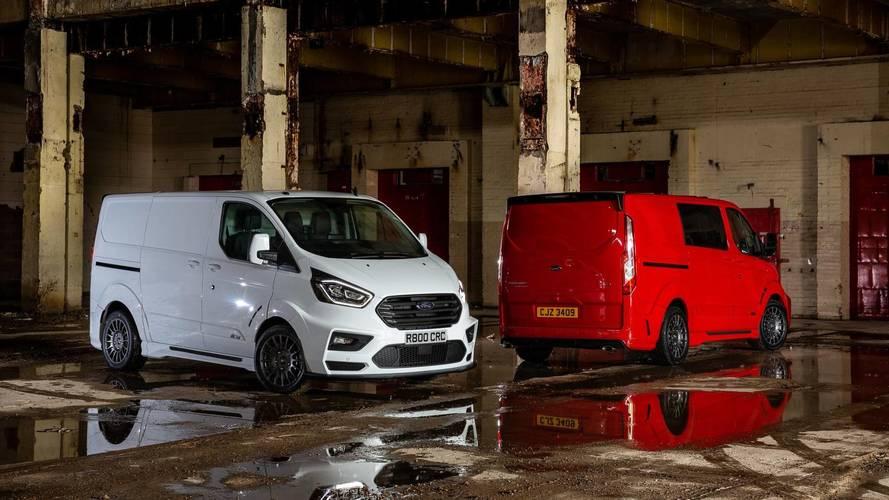 Ford, ralli aracı görünümlü Transit Custom'ını tanıttı