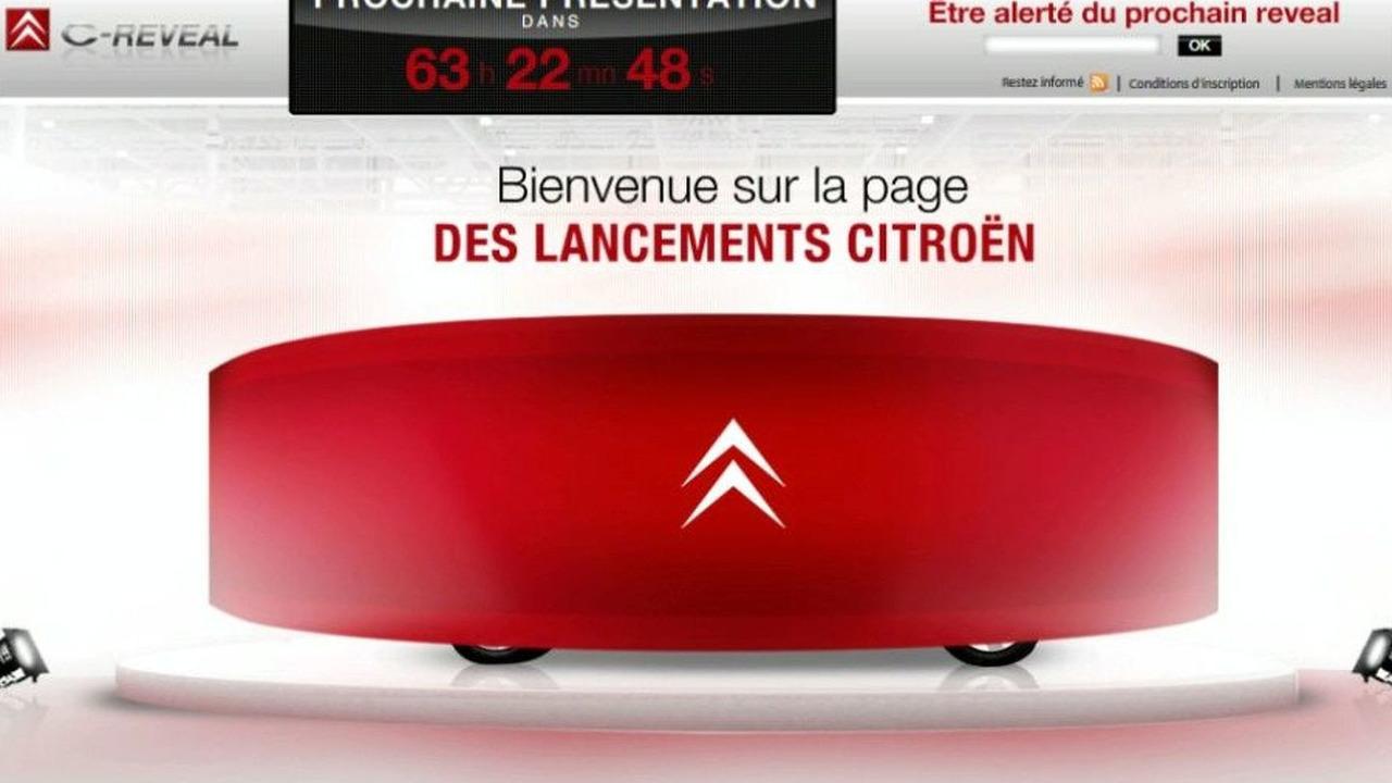 Citroen 'C-Reveal' Website