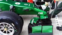 Marcus Ericsson Caterham CT04 28.01.2014. Formula One Testing Jerez Spain