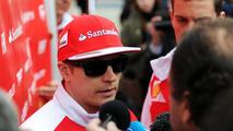 Kimi Raikkonen 28.01.2014 Formula One Testing Jerez Spain
