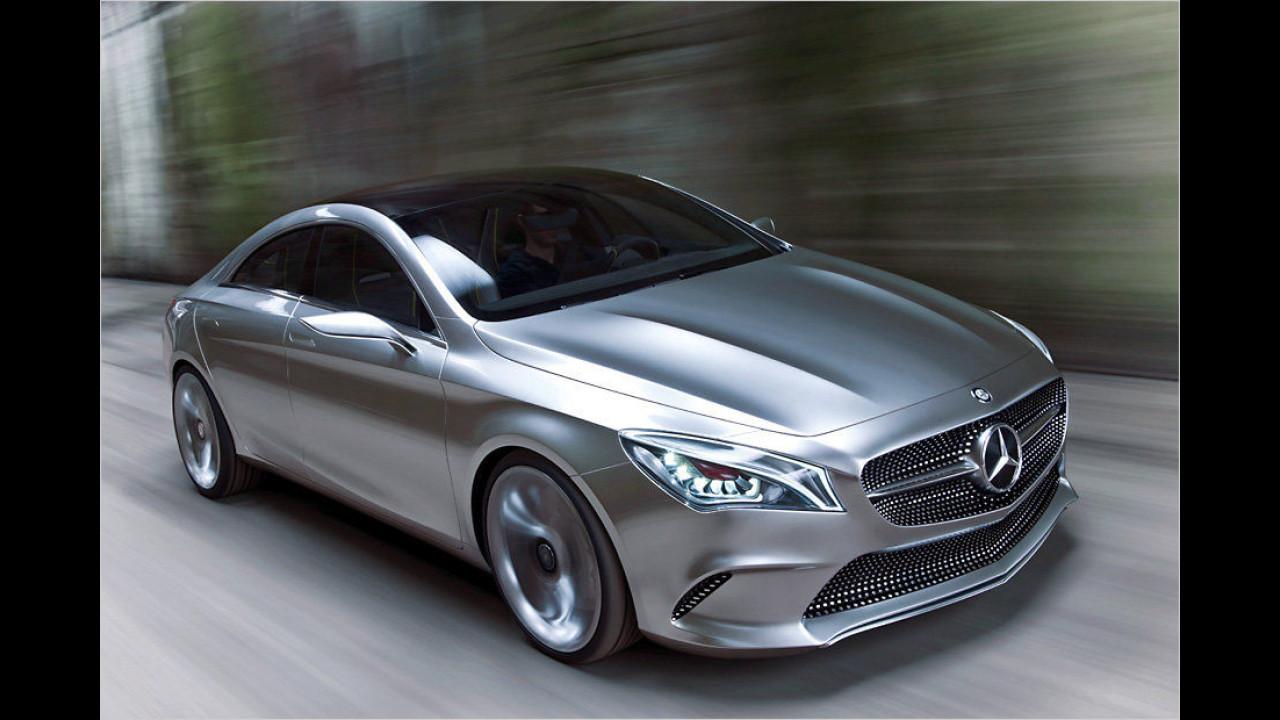 Mercedes Concept Style Coupé (Peking 2012)