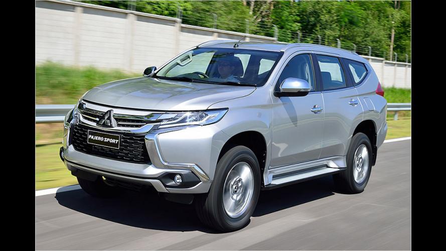 Neuauflage: Mitsubishi Pajero Sport