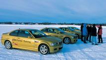BMW winter training in Finland
