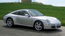 Porsche 911 Targa Spy Photo
