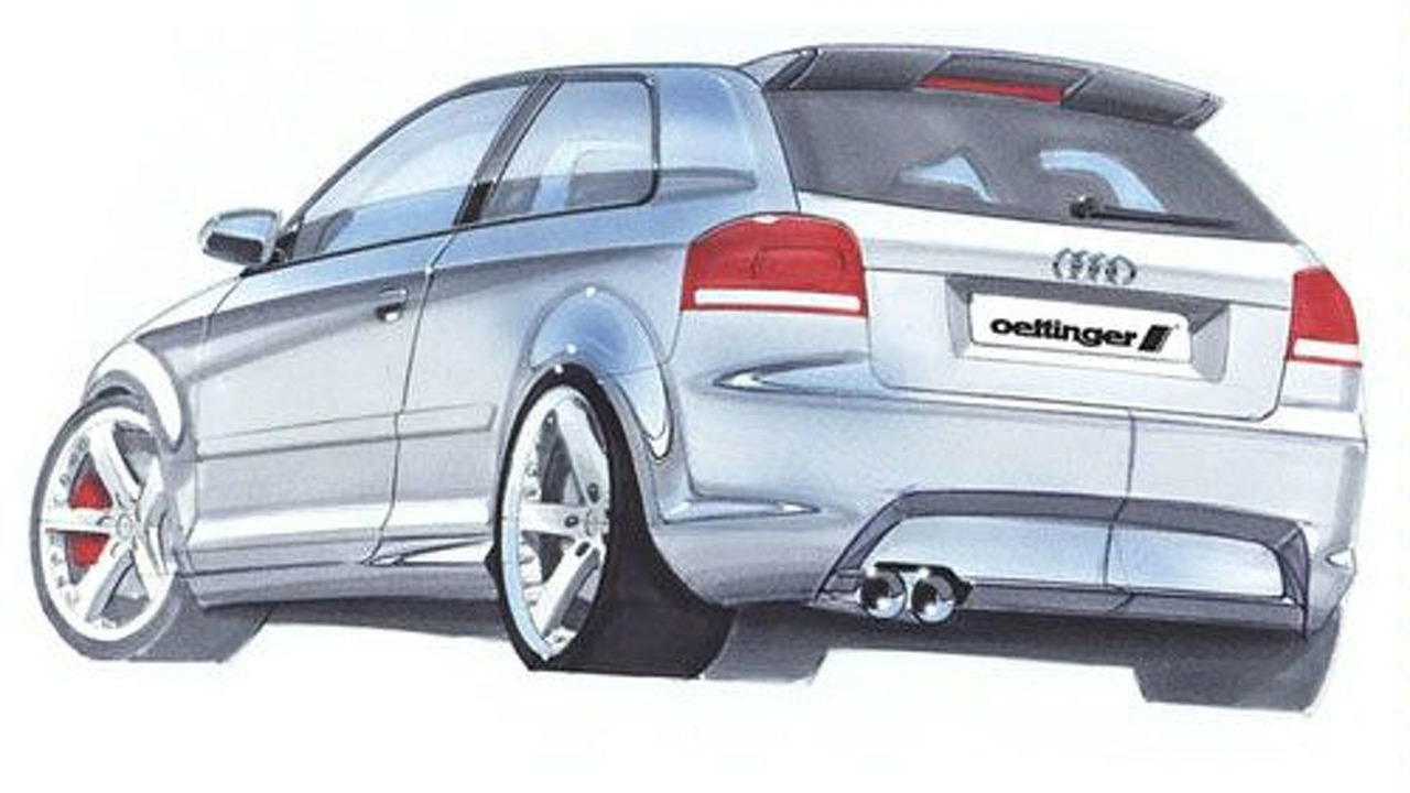 Oettinger Audi A3 sketch
