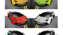 Lamborghini Aventador SuperVeloce rendering / Daniele Pelligra
