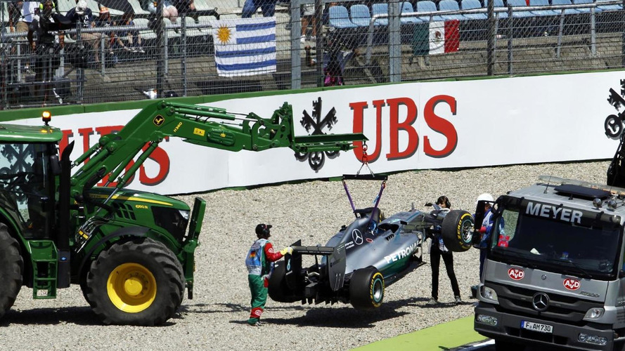 Rivals considered protesting Hamilton brake switch