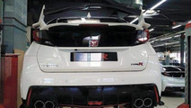 Honda Civic Type R production version spy photo