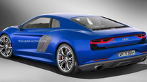 Audi R8 rendered based on the Nanuk concept