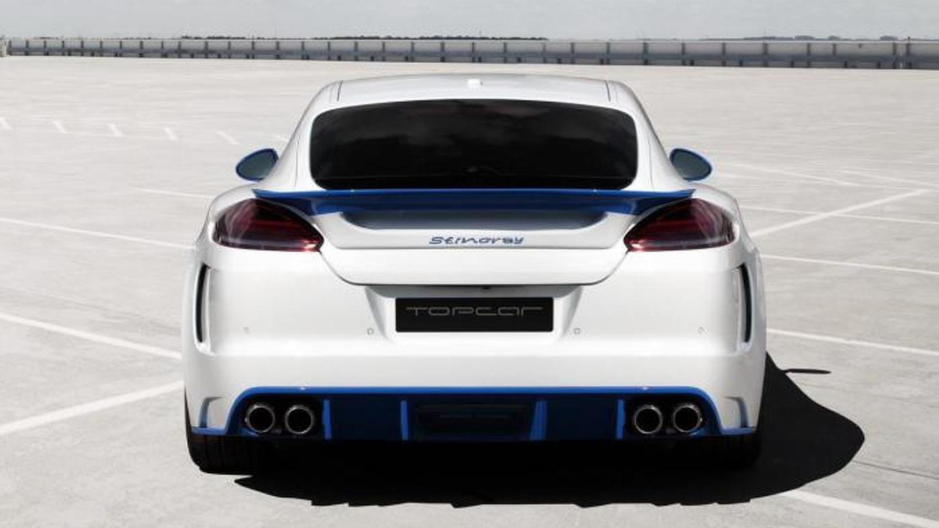 Porsche Panamera. Боди-кит Stingray GTR Blue от TopCar