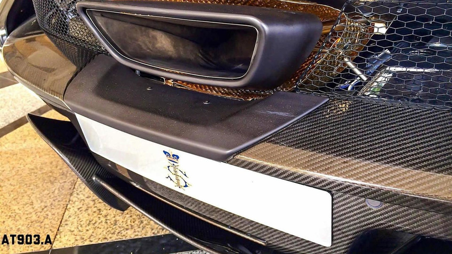 McLaren P1 By MSO Spotted In Malaysia With Gold Engine Cover And Wheels Video