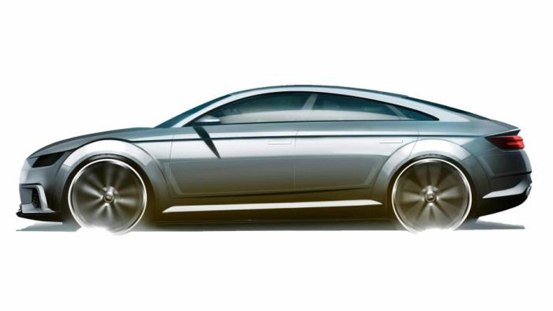 Наброски Audi TT Sportback Concept