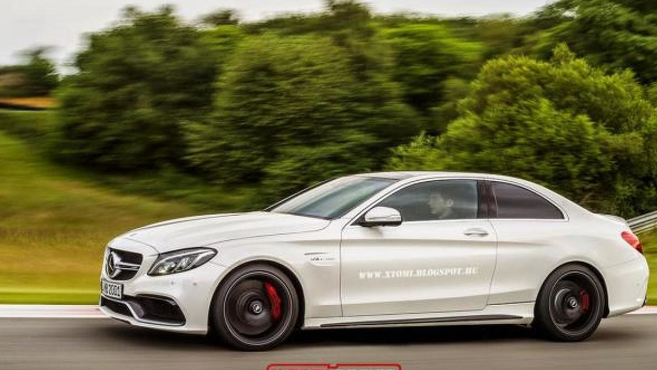 Mercedes-AMG C63 Coupe rendering / X-Tomi