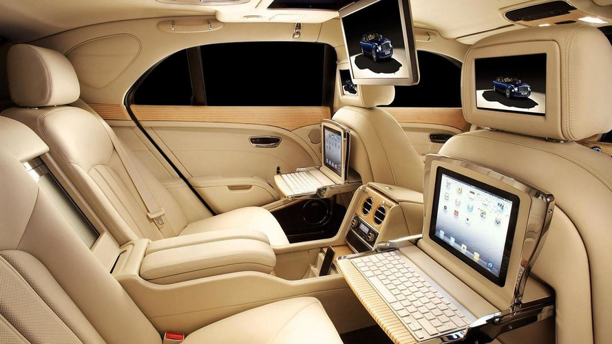 Bentley Mulsanne gains new executive interior package