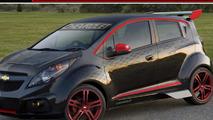 Chevrolet Spark Sinister Concept for SEMA 22.10.2012