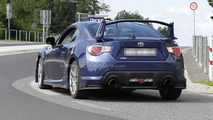 Toyota GT 86 aero kit Euro spec spy photo 27.06.2012