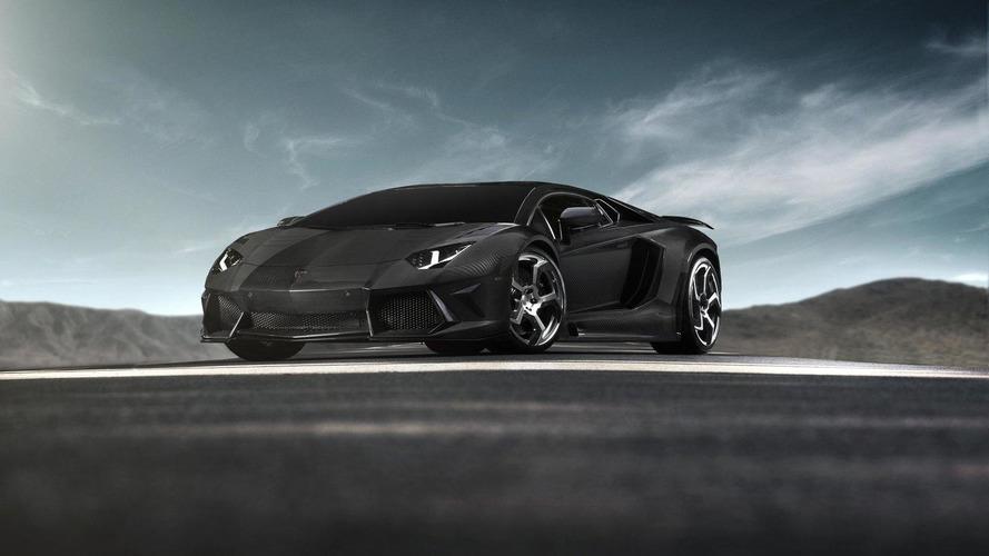 Mansory's Lamborghini Aventador Carbonado previewed