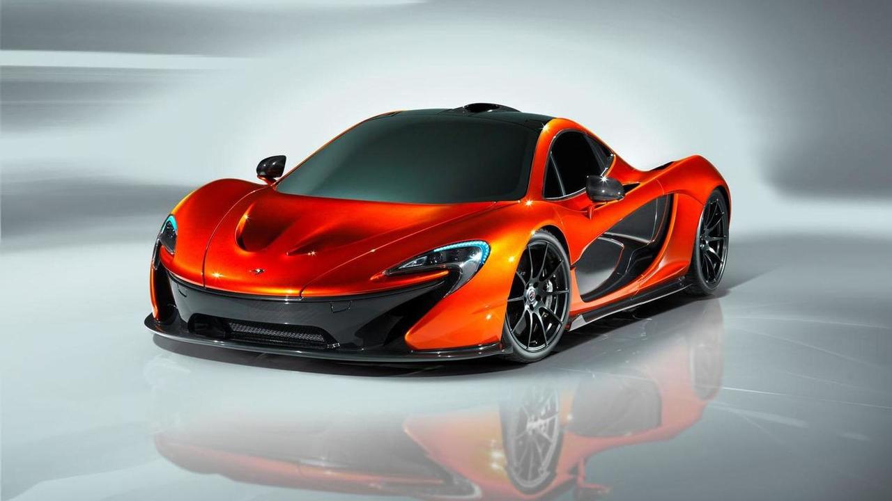 McLaren P1 concept 18.9.2012