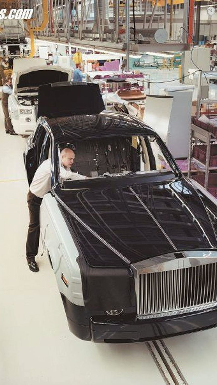 Rolls Royce Factory