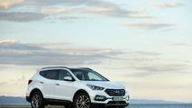 Hyundai Santa Fe blanco
