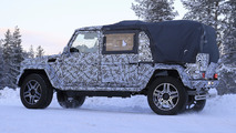 2018 Mercedes G-Class 4x4 pickup spy photo