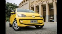 VW up! 2016 traz novidades e mudanças nas versões - preços podem chegar a R$ 50 mil