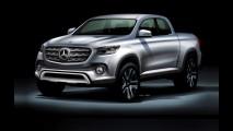 Mercedes-Benz GLT: inédita picape média tem primeiro teaser divulgado