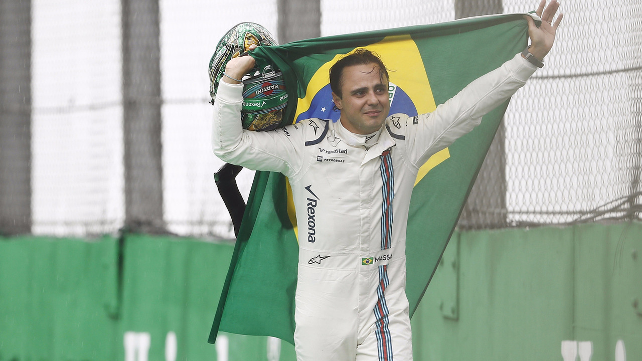 Despedida do Felipe Massa no GP Brasil
