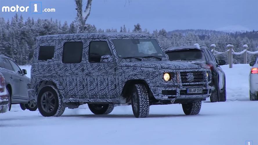 Yeni Mercedes G-Serisi'nin kutumsu şeklini koruyacağı kesinleşti