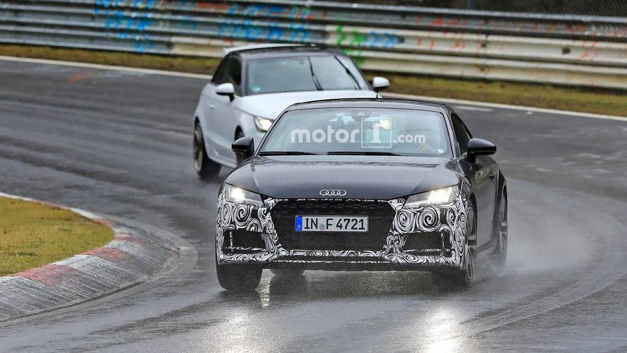 Photos espion - Audi TT (2019)
