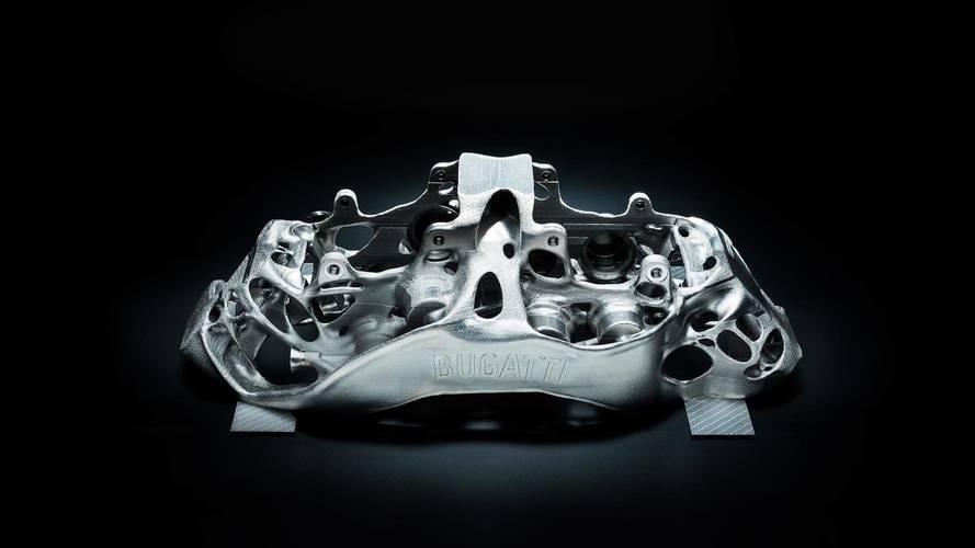 Bugatti'nin 3D Yazıcı Teknolojisiyle Ürettiği Fren Kaliperleri