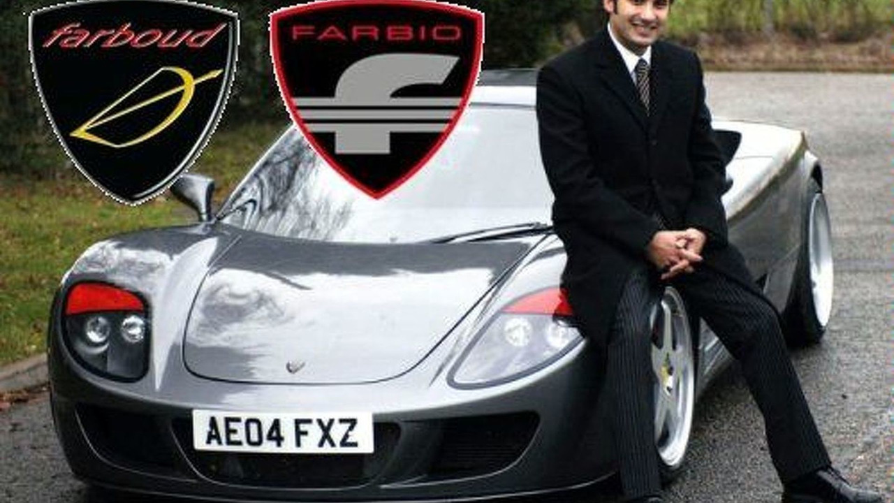 Farboud Arash with his GTS concept
