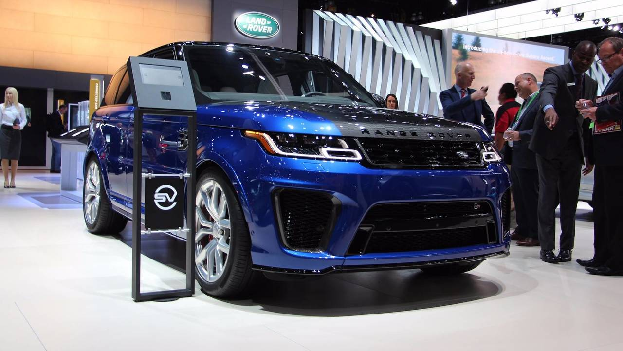 range rover sport svr could get hardcore stripped out version. Black Bedroom Furniture Sets. Home Design Ideas