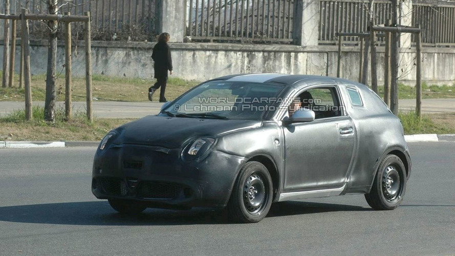 1st Time Spied: Alfa Romeo Junior Prototype