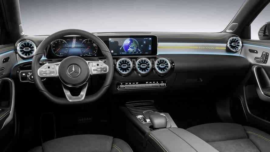2018 Mercedes A-Class interior