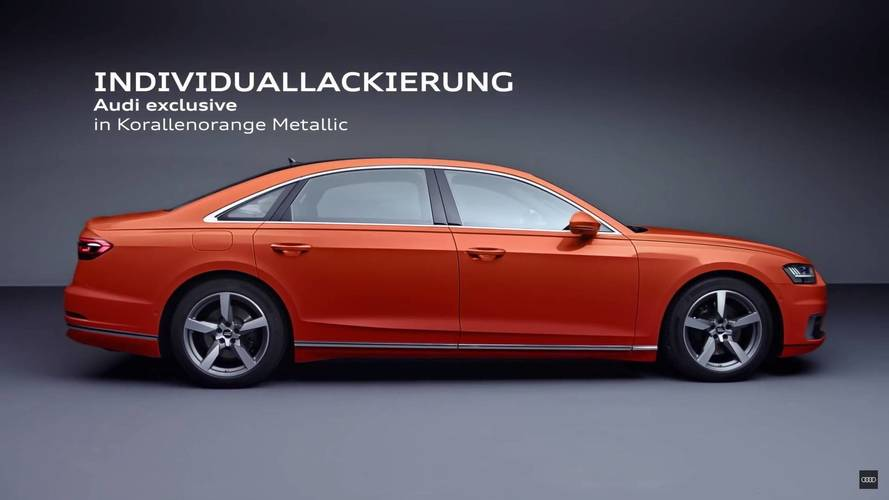 Audi Shows Some Of The Ways You Can Trick Out The New A8