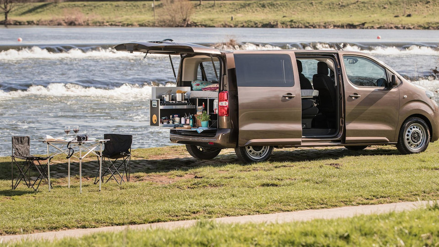 Quirky Toyota Proace Camper Now Available In Germany