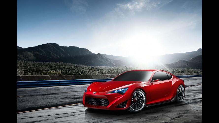 Toyota FT-86 confermata per il 2012